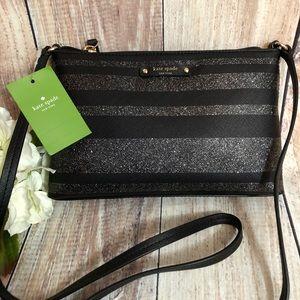 Kate Spade Haven Lane Ramey Glitter Stripe Bag